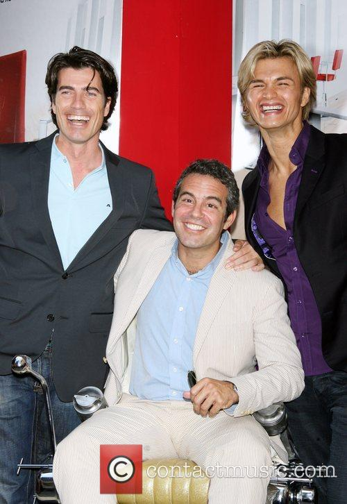 Rene Fris, Andy Cohen and Kim Vo 2