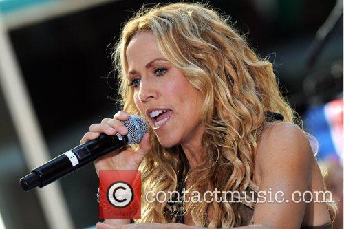 Sheryl Crow and Rockefeller Plaza 43
