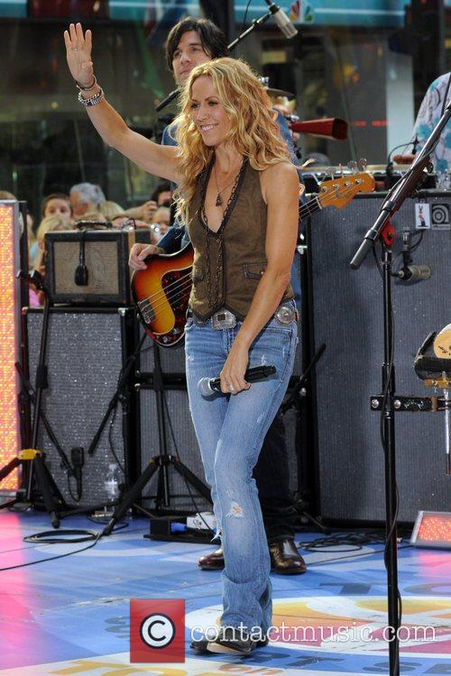 Sheryl Crow and Rockefeller Plaza 41