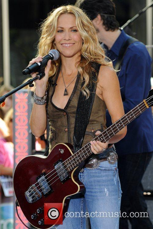 Sheryl Crow and Rockefeller Plaza 36