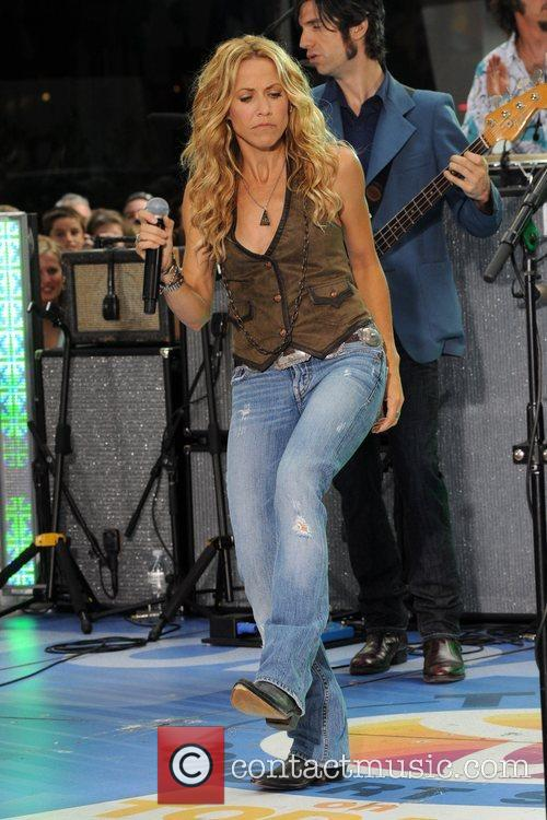 Sheryl Crow and Rockefeller Plaza 37