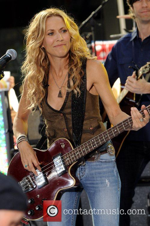 Sheryl Crow and Rockefeller Plaza 39
