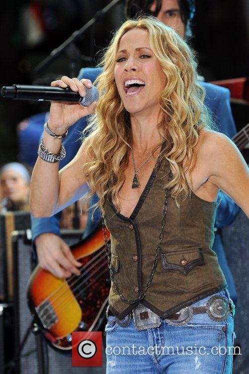 Sheryl Crow and Rockefeller Plaza 1