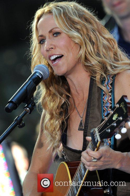 Sheryl Crow and Rockefeller Plaza 45