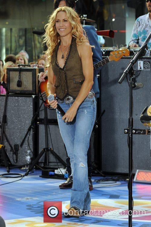 Sheryl Crow and Rockefeller Plaza 40