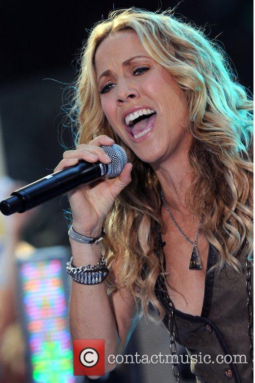 Sheryl Crow and Rockefeller Plaza 44