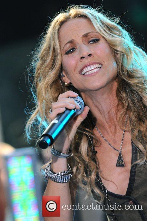 Sheryl Crow and Rockefeller Plaza 47