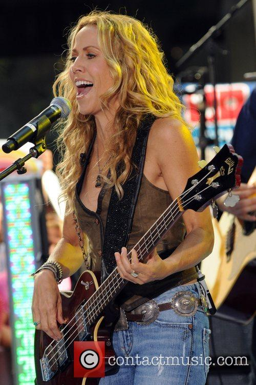 Sheryl Crow and Rockefeller Plaza 48