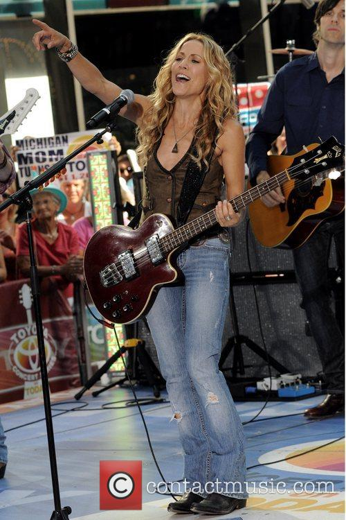Sheryl Crow and Rockefeller Plaza 42