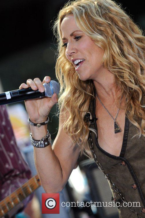 Sheryl Crow and Rockefeller Plaza 46