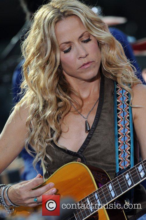 Sheryl Crow and Rockefeller Plaza 35
