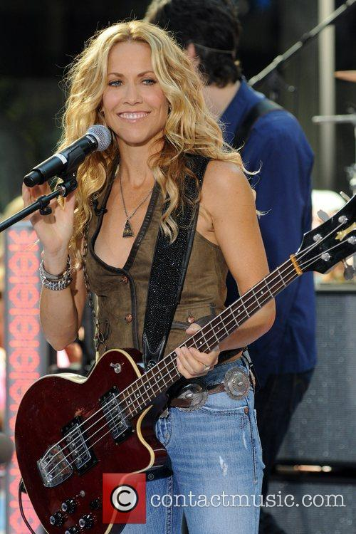 Sheryl Crow and Rockefeller Plaza 33