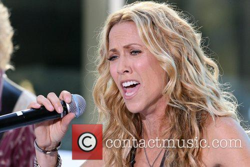 Sheryl Crow and Rockefeller Plaza 6