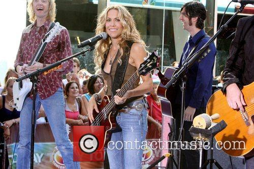 Sheryl Crow and Rockefeller Plaza 16