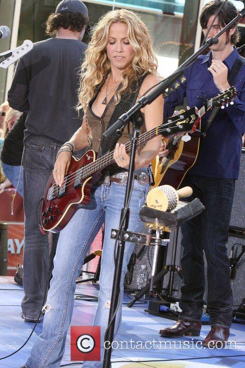 Sheryl Crow and Rockefeller Plaza 21
