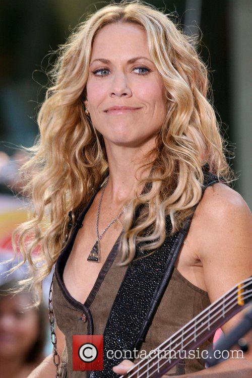 Sheryl Crow and Rockefeller Plaza 2