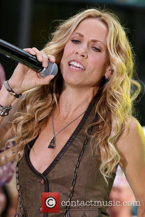 Sheryl Crow and Rockefeller Plaza 22