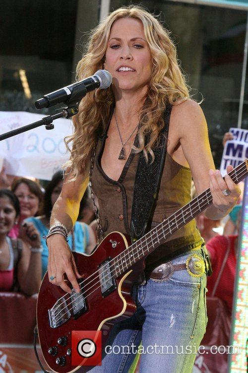Sheryl Crow and Rockefeller Plaza 30