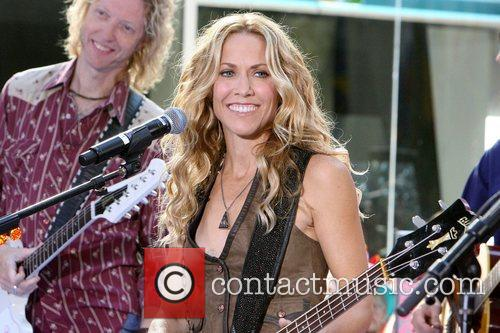 Sheryl Crow and Rockefeller Plaza 15