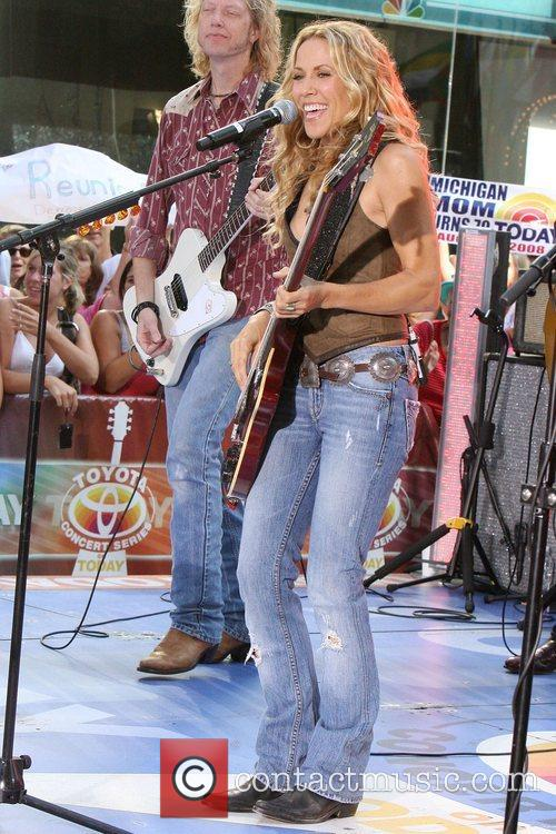 Sheryl Crow and Rockefeller Plaza 24