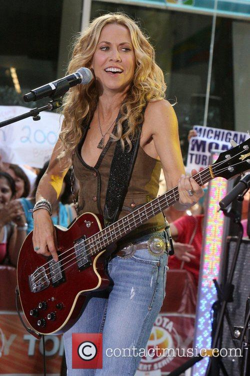 Sheryl Crow and Rockefeller Plaza 7