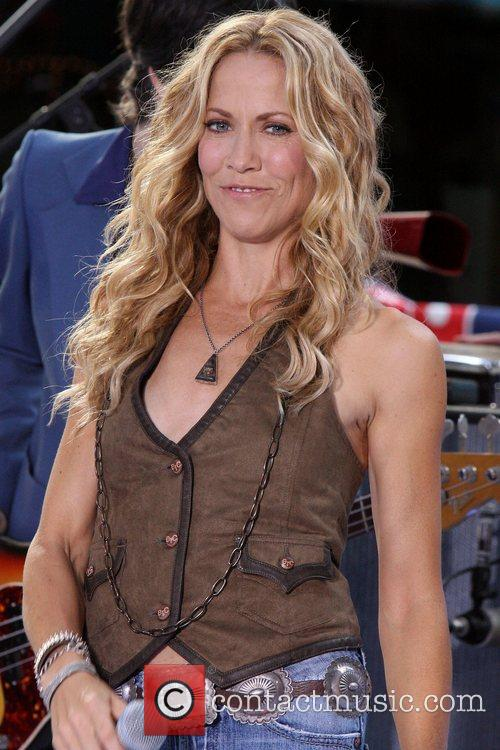 Sheryl Crow and Rockefeller Plaza 5