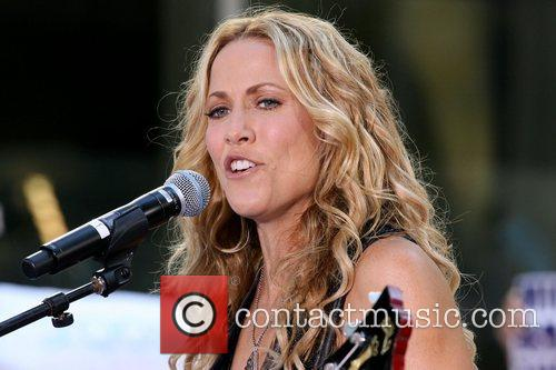 Sheryl Crow and Rockefeller Plaza 31