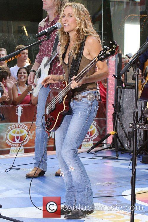Sheryl Crow and Rockefeller Plaza 17