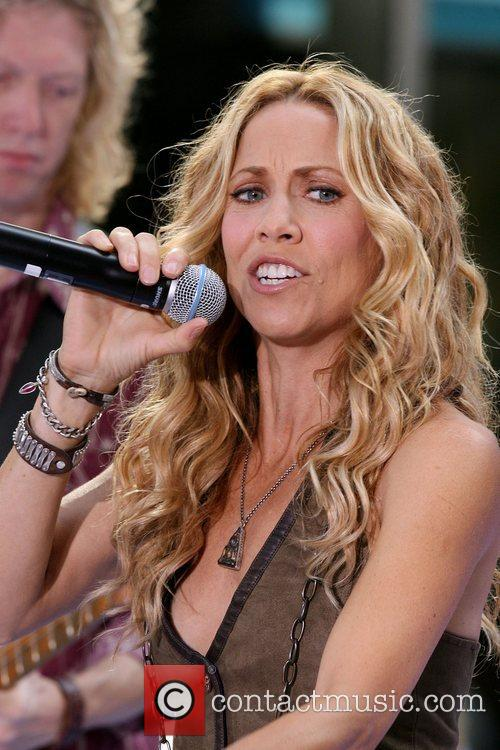 Sheryl Crow and Rockefeller Plaza 3