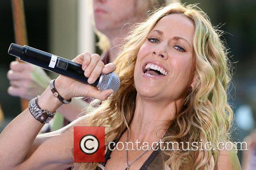 Sheryl Crow and Rockefeller Plaza 26