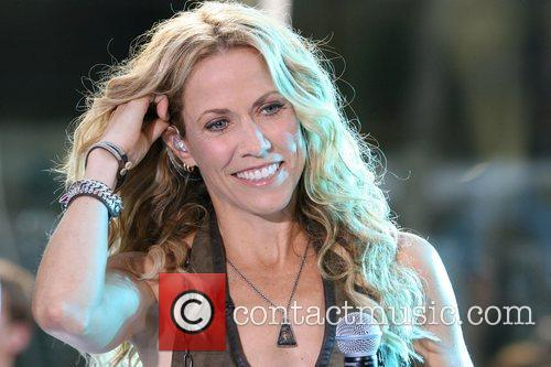 Sheryl Crow and Rockefeller Plaza 9
