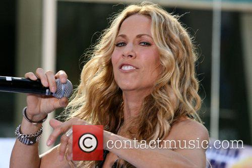 Sheryl Crow and Rockefeller Plaza 25