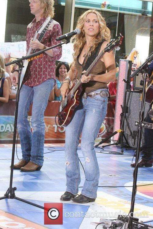 Sheryl Crow and Rockefeller Plaza 59