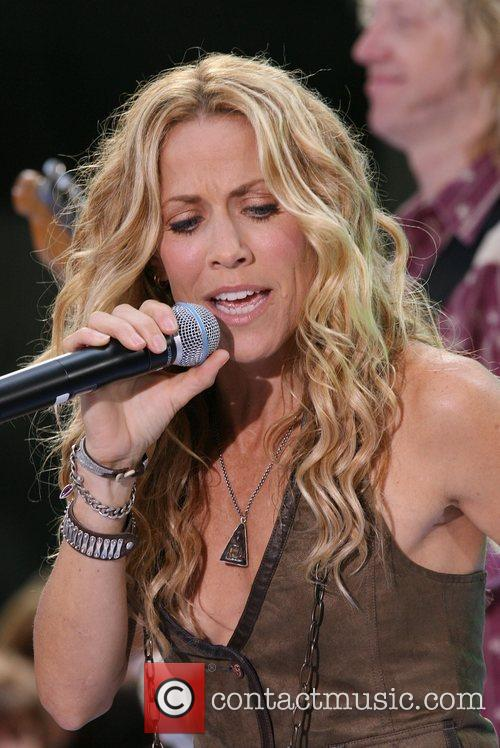 Sheryl Crow and Rockefeller Plaza 57