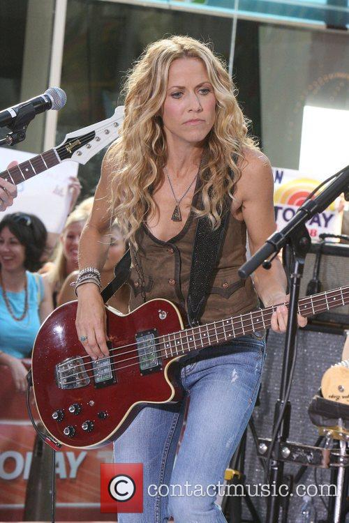 Sheryl Crow and Rockefeller Plaza 61