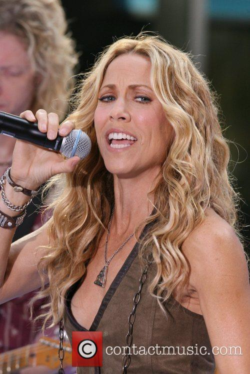 Sheryl Crow and Rockefeller Plaza 54