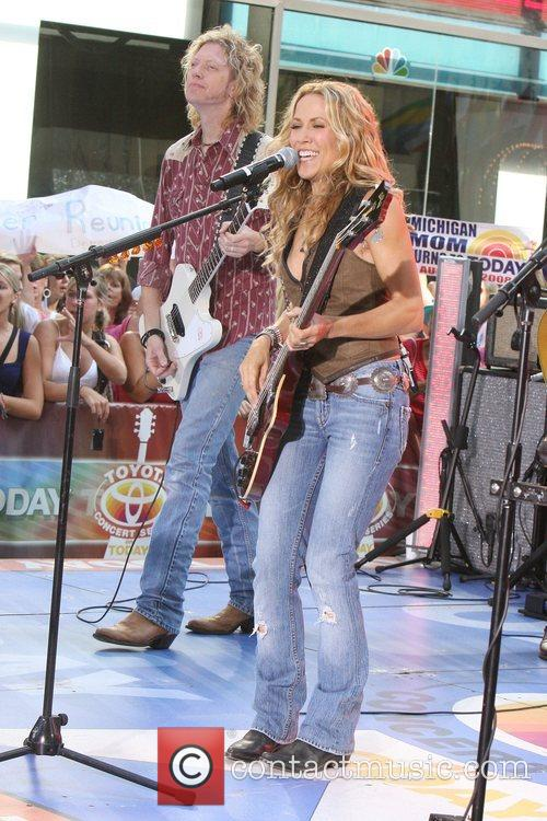 Sheryl Crow and Rockefeller Plaza 52