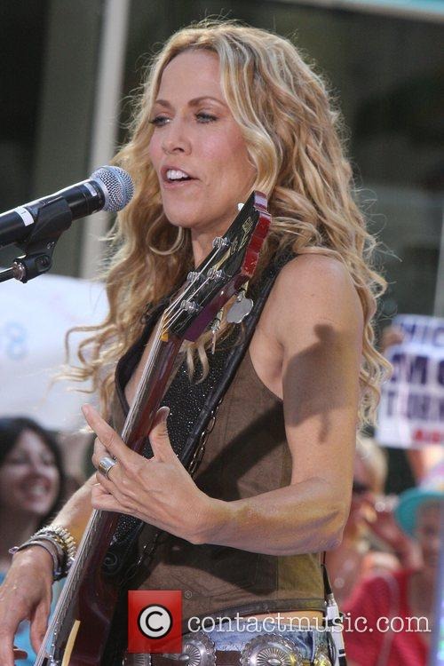 Sheryl Crow and Rockefeller Plaza 49