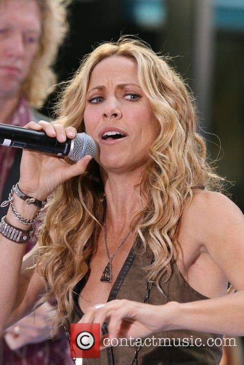 Sheryl Crow and Rockefeller Plaza 56