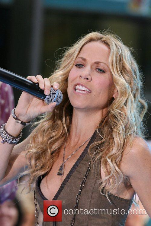 Sheryl Crow and Rockefeller Plaza 50