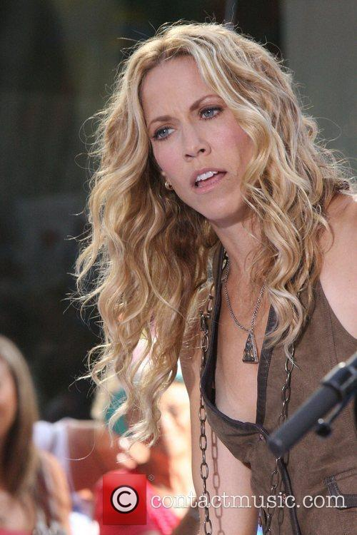 Sheryl Crow and Rockefeller Plaza 60