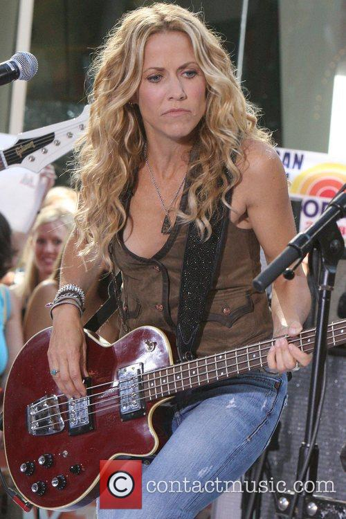 Sheryl Crow and Rockefeller Plaza 53