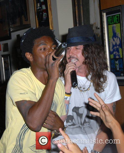 Shwayze and Cisco Adler Performing At Hard Rock Cafe City Walk 5
