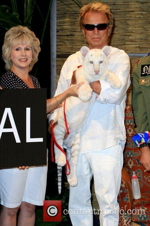 Siegfried Fischbacher and Celestial Siegfried and Roy announce...