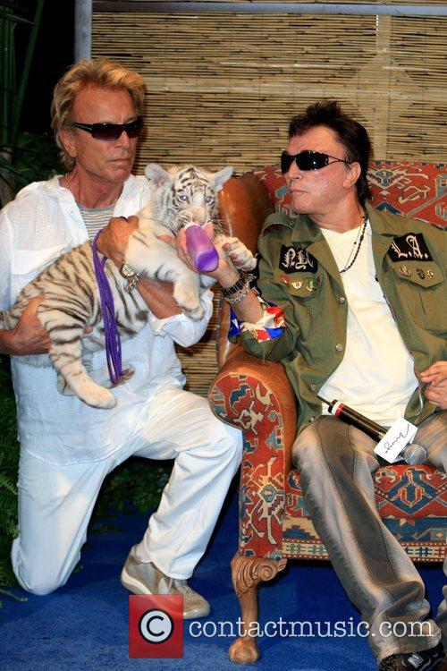 Siegfried Fischbacher, Roy Horn and Star Siegfried and...