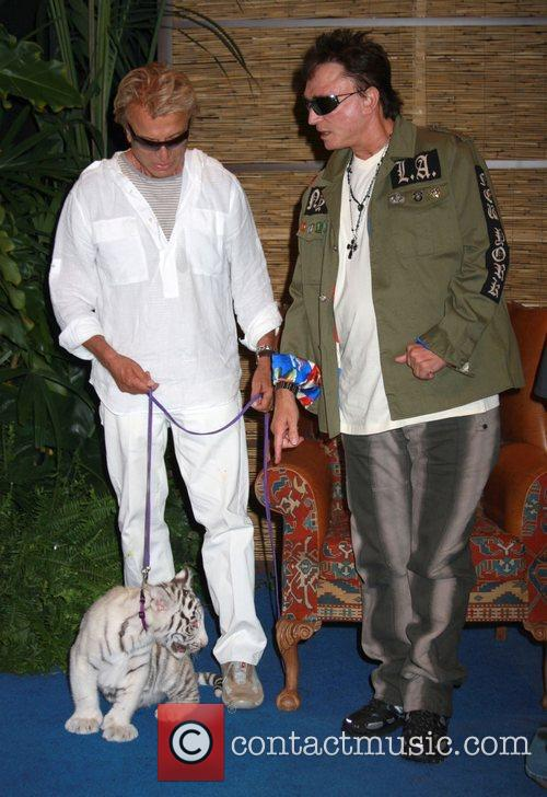 Siegfried Fischbacher and Roy Horn with Star Siegfried...