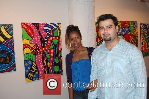 Sigrid Somers art show held at Kaleidoscope gallery...