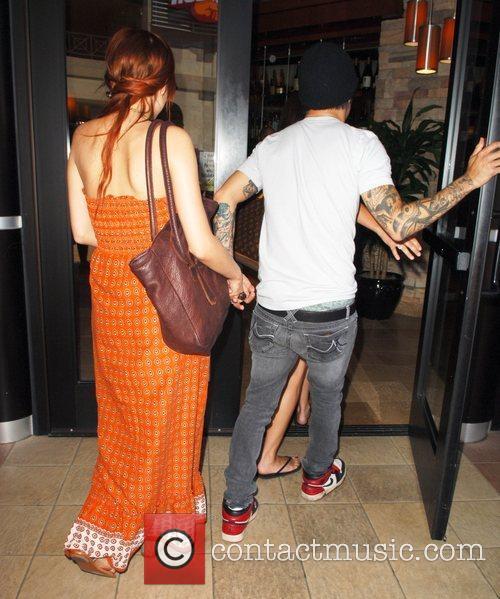 Pete Wentz and Ashlee Simpson-Wentz  newlyweds heading...