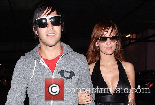 Pete Wentz and Ashlee Simpson 2