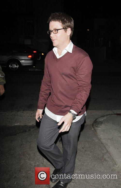 Kevin Connolly leaving Foxtail nightclub in West Hollywood...